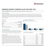 Dimensional Emerging Markets Targeted Value Acc