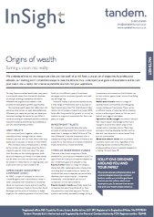 -Origins of wealth