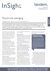-Pound cost averaging