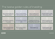 12 Golden Rules to Investing